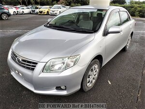 Used 2011 TOYOTA COROLLA AXIO BH478041 for Sale