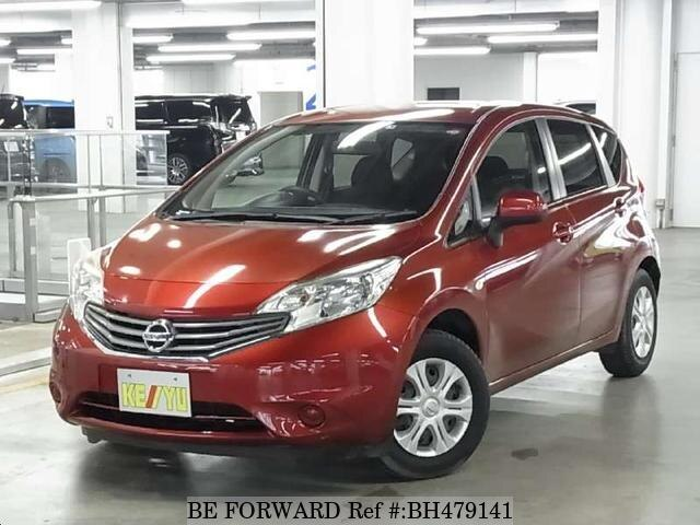 Used 2013 NISSAN NOTE BH479141 for Sale