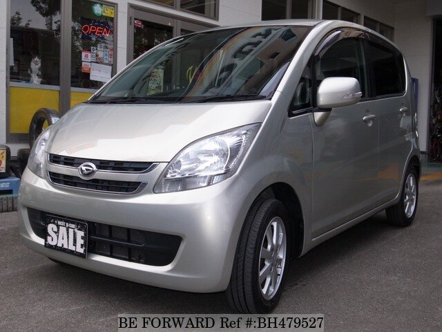Used 2007 DAIHATSU MOVE BH479527 for Sale