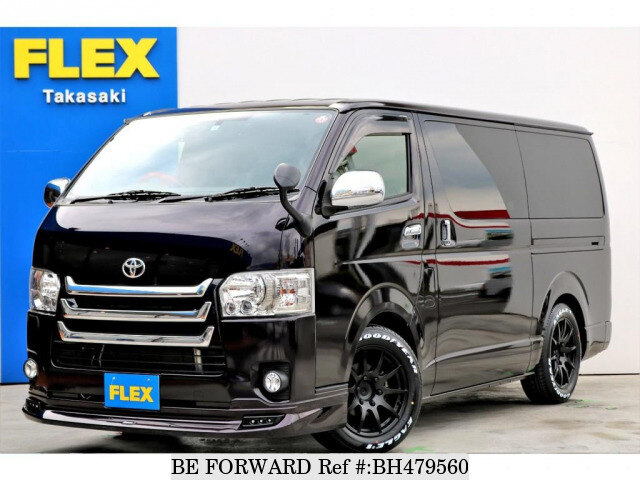 Used 2016 TOYOTA HIACE VAN BH479560 for Sale