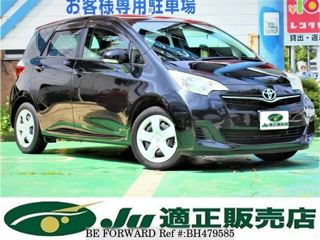 Used 2011 TOYOTA RACTIS BH479585 for Sale