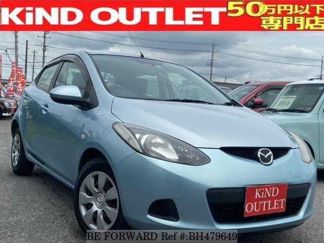 Used 2009 MAZDA DEMIO BH479649 for Sale