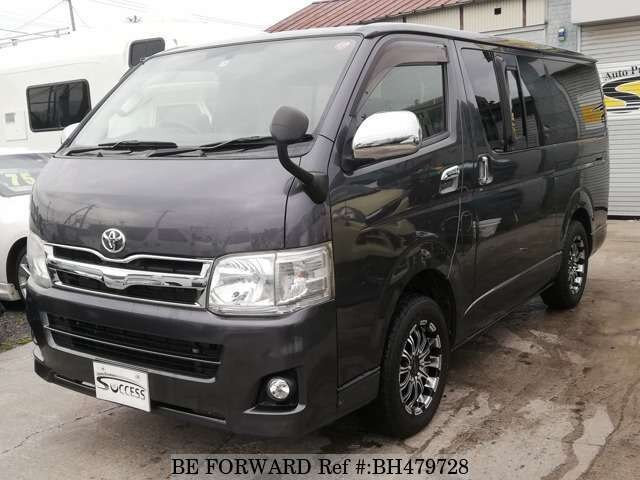 Used 2011 TOYOTA REGIUSACE VAN BH479728 for Sale