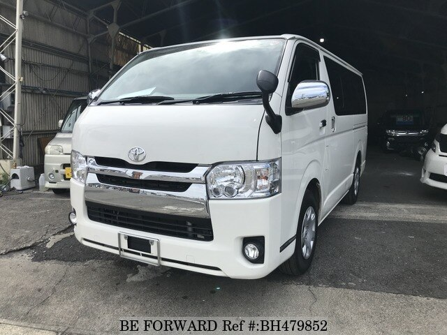 Used 2015 TOYOTA HIACE VAN BH479852 for Sale