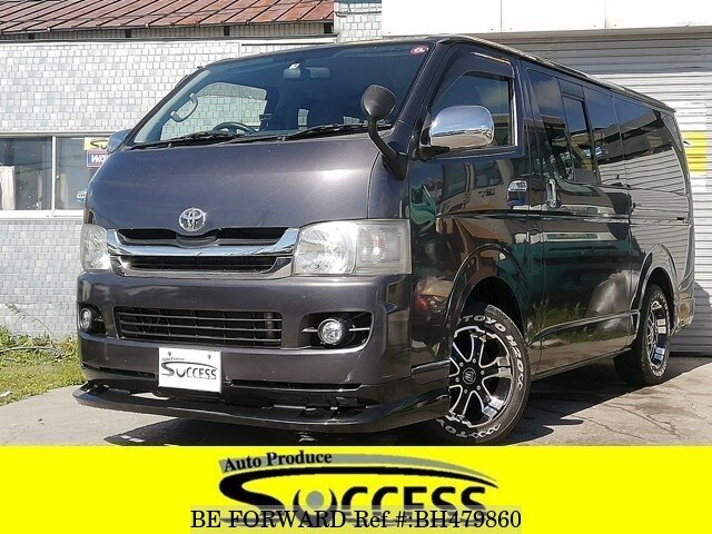Used 2009 TOYOTA HIACE VAN BH479860 for Sale