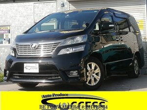 Used 2010 TOYOTA VELLFIRE BH479874 for Sale