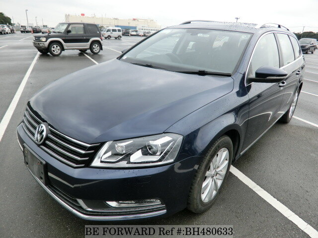 Used 2012 VOLKSWAGEN PASSAT VARIANT BH480633 for Sale