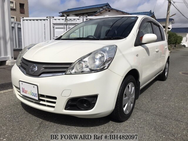 Used 2009 NISSAN NOTE BH482097 for Sale