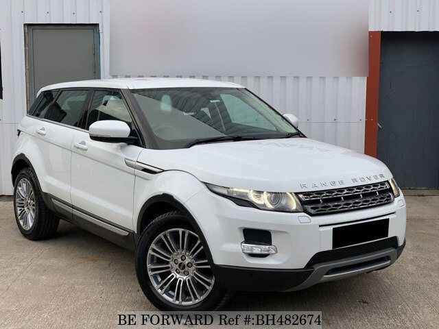 Used 2011 LAND ROVER RANGE ROVER EVOQUE BH482674 for Sale