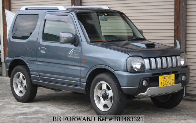 Used 2004 SUZUKI JIMNY BH483321 for Sale