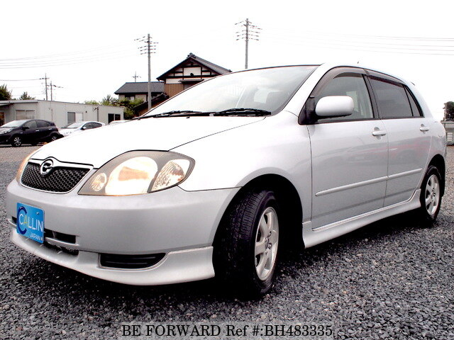 Used 2002 TOYOTA COROLLA RUNX BH483335 for Sale