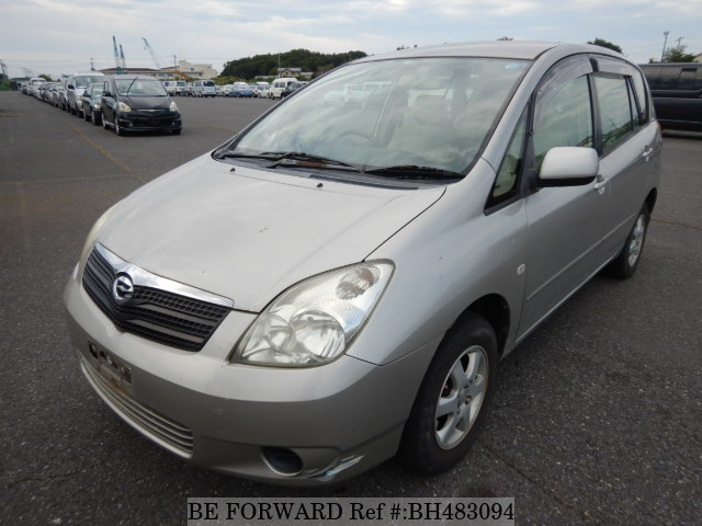 Used 2001 TOYOTA COROLLA SPACIO BH483094 for Sale