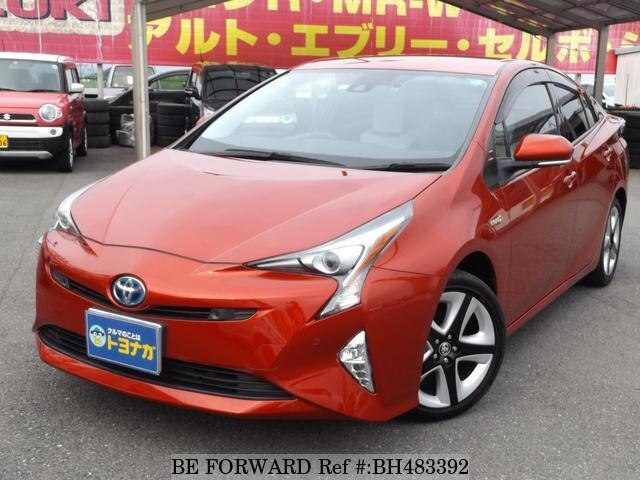 Used 2018 TOYOTA PRIUS BH483392 for Sale