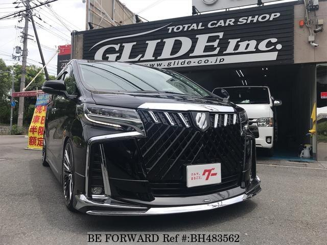 Used 2018 TOYOTA ALPHARD BH483562 for Sale