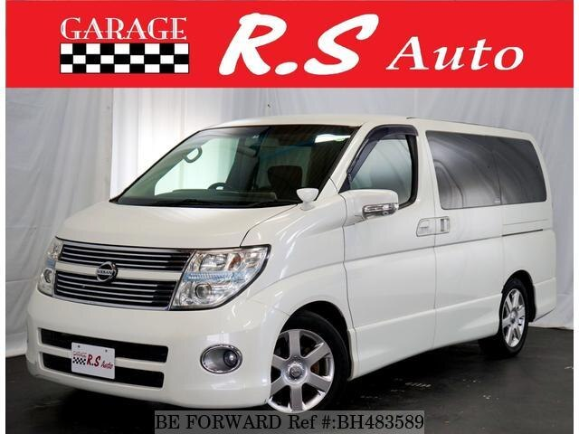 Used 2008 NISSAN ELGRAND BH483589 for Sale