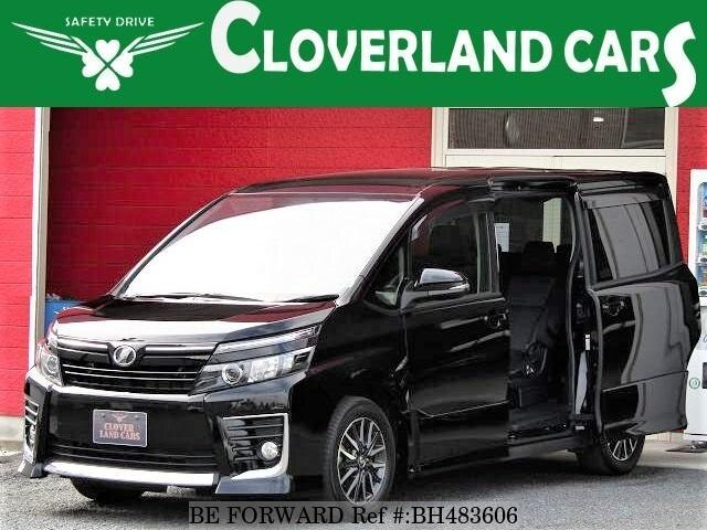 Used 2014 TOYOTA VOXY BH483606 for Sale