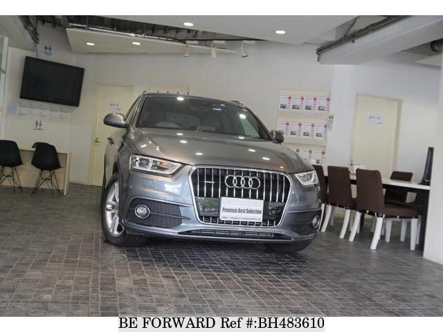 Used 2012 AUDI Q3 BH483610 for Sale