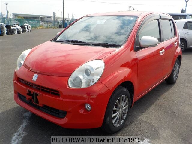 Used 2011 TOYOTA PASSO BH481919 for Sale