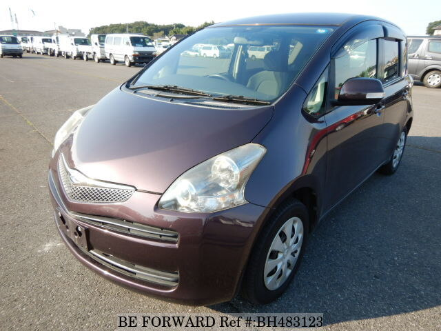 Used 2009 TOYOTA RACTIS BH483123 for Sale