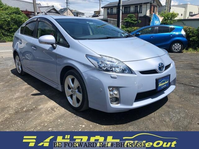 Used 2009 TOYOTA PRIUS BH483635 for Sale