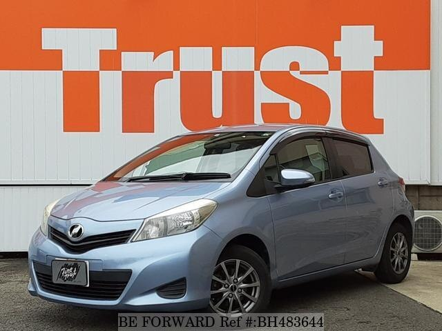 Used 2012 TOYOTA VITZ BH483644 for Sale
