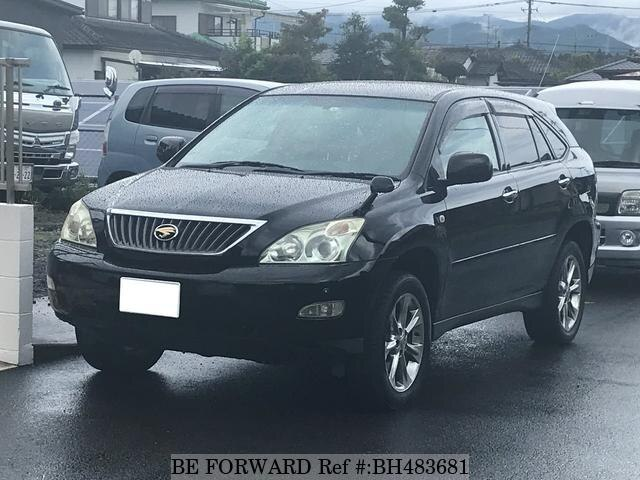 Used 2008 TOYOTA HARRIER BH483681 for Sale