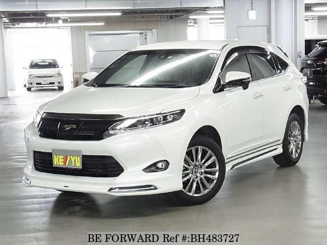 Used 2016 TOYOTA HARRIER BH483727 for Sale