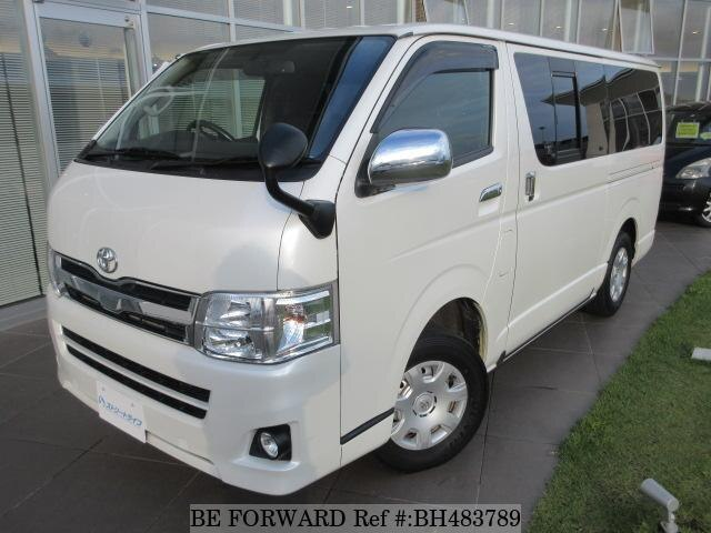 Used 2013 TOYOTA HIACE VAN BH483789 for Sale