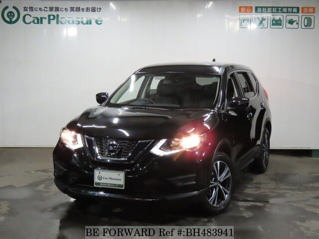 Used 2017 NISSAN X-TRAIL BH483941 for Sale