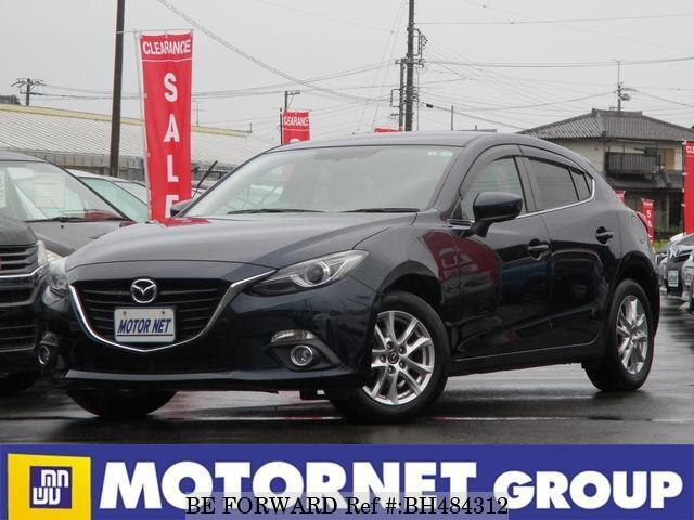 Used 2014 MAZDA AXELA SPORT BH484312 for Sale