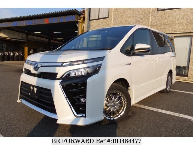 Used 2017 TOYOTA VOXY BH484477 for Sale