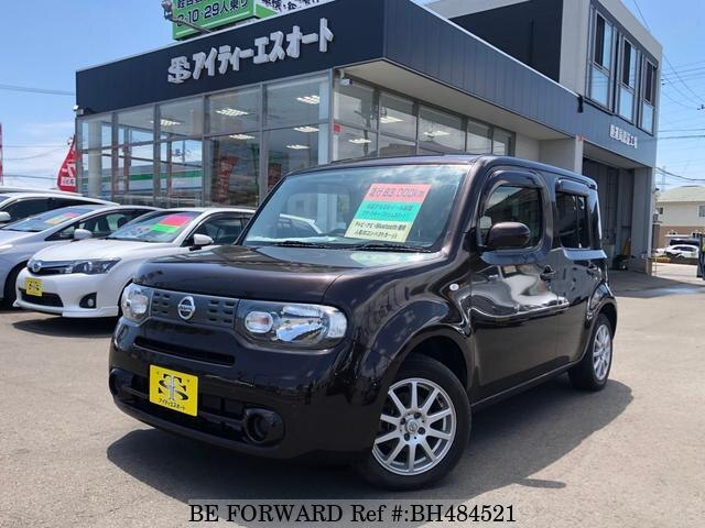 Used 2011 NISSAN CUBE BH484521 for Sale