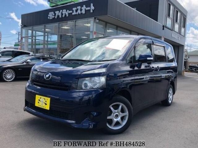 Used 2008 TOYOTA VOXY BH484528 for Sale