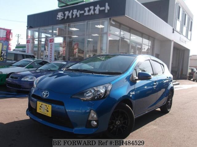 Used 2014 TOYOTA AQUA BH484529 for Sale
