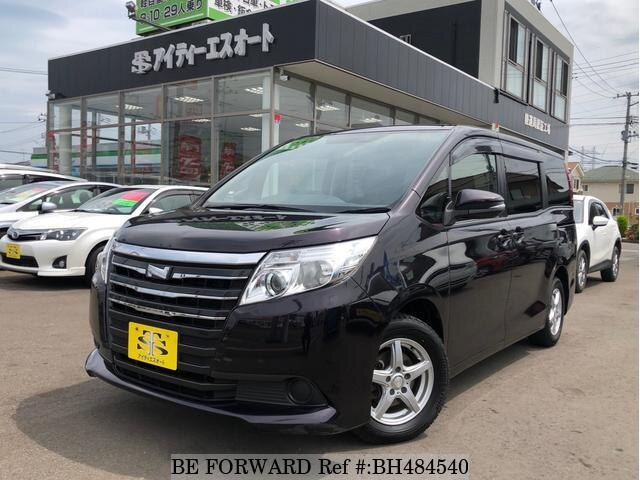 Used 2015 TOYOTA NOAH BH484540 for Sale