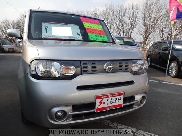 Used 2012 NISSAN CUBE BH484548 for Sale