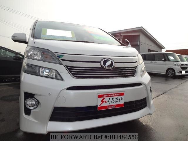 Used 2012 TOYOTA VELLFIRE BH484556 for Sale