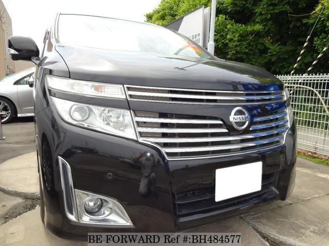 Used 2010 NISSAN ELGRAND BH484577 for Sale