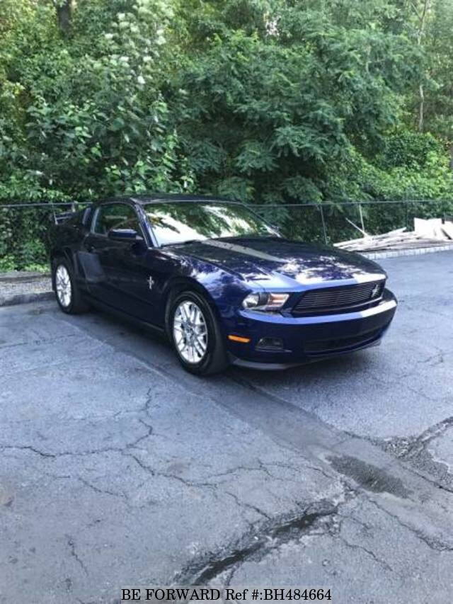 Used 2012 FORD MUSTANG BH484664 for Sale