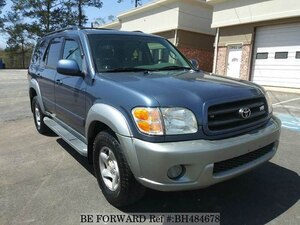 Used 2002 TOYOTA SEQUOIA BH484678 for Sale