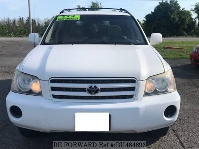 Used 2003 TOYOTA HIGHLANDER BH484696 for Sale
