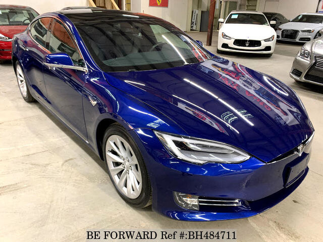 Used 2017 TESLA MODEL S BH484711 for Sale