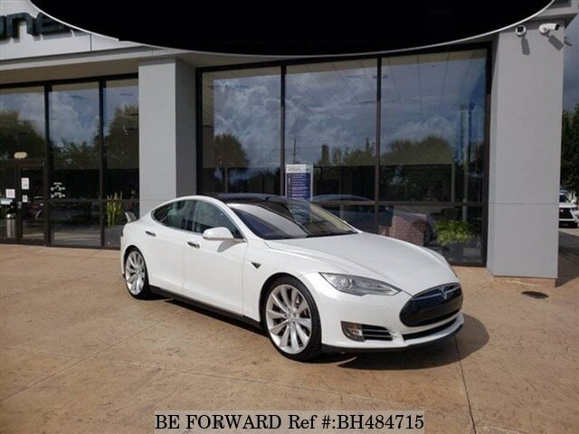 Used 2013 TESLA MODEL S BH484715 for Sale