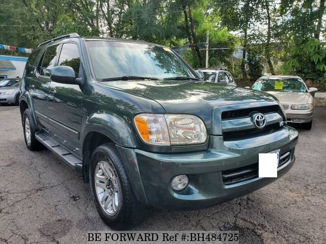Used 2007 TOYOTA SEQUOIA BH484725 for Sale