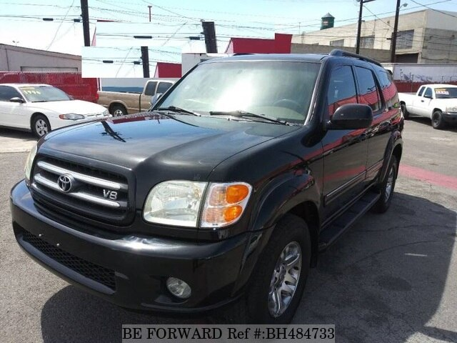 Used 2004 TOYOTA SEQUOIA BH484733 for Sale