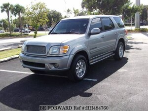 Used 2002 TOYOTA SEQUOIA BH484760 for Sale