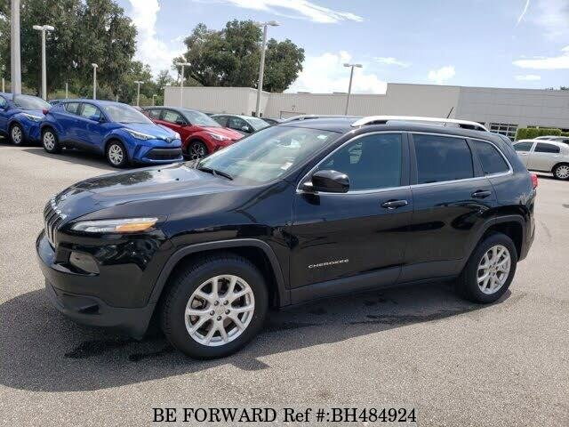Used 2018 JEEP CHEROKEE BH484924 for Sale