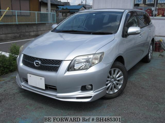 Used 2007 TOYOTA COROLLA FIELDER BH485301 for Sale