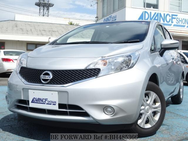 Used 2016 NISSAN NOTE BH485366 for Sale