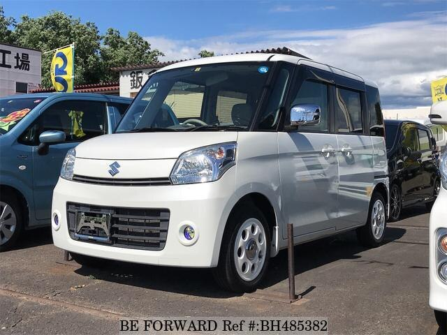 Used 2013 SUZUKI SPACIA BH485382 for Sale